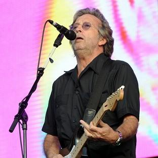 Eric Clapton's show was upset by technical problems