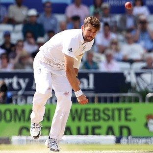 Liam Plunkett was on a hat-trick for the second time in the match before lunch