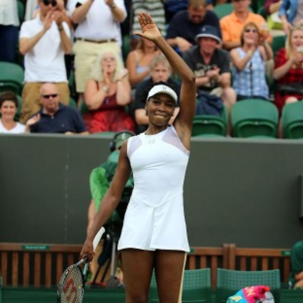 Burnley and Pendle Citizen: Venus Williams made a winning start at Wimbledon
