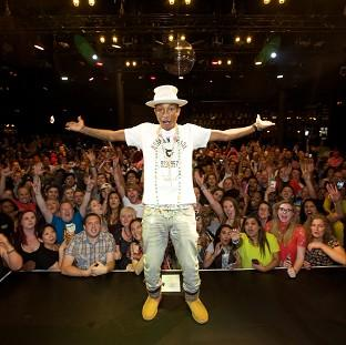 Burnley and Pendle Citizen: Pharrell Williams wowed fans at his intimate MasterCard Priceless gig