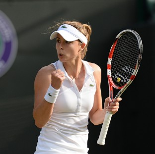 Alize Cornet ended the Wimbledon campaign of Serena Williams