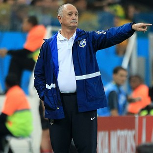 Luiz Felipe Scolari was full of praise for Chile