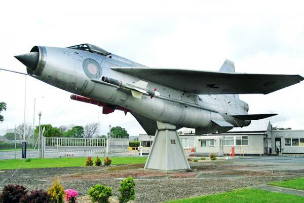 Burnley and Pendle Citizen: The English Lightning as it appeared in Samlesbury