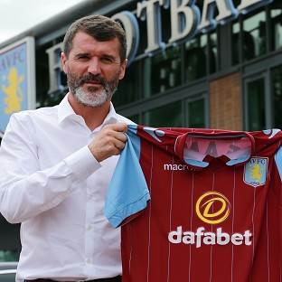 Roy Keane, pictured, will be Paul Lambert's number two at Aston Villa