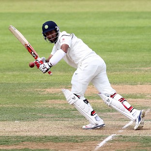 Cheteshwar Pujara led India's recovery