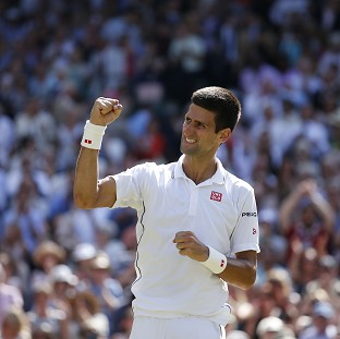 Novak Djokovic reached the final of Wimbledon once again