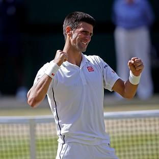 Novak Djokovic is determined to win Sundays' final