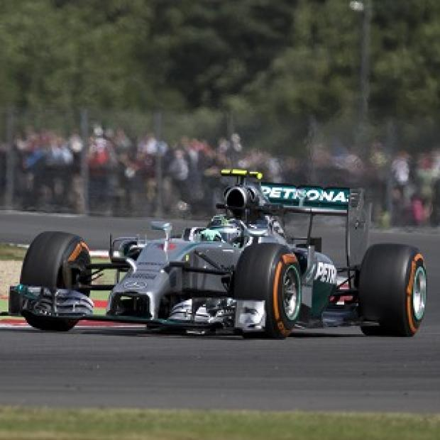 Burnley and Pendle Citizen: Nico Rosberg will start Sunday's British GP from pole position (AP)