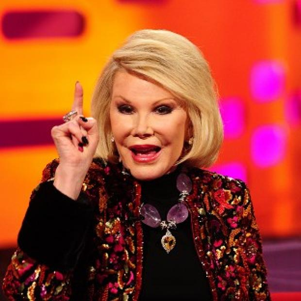 Burnley and Pendle Citizen: Joan Rivers has stormed out of an interview with CNN