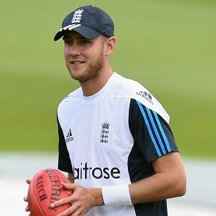 Stuart Broad is preparing for a Test at his home ground, Trent Bridge