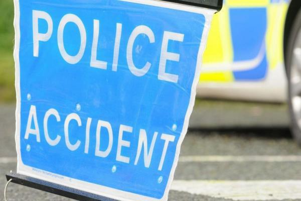 M65 blocked after two-car smash near Burnley