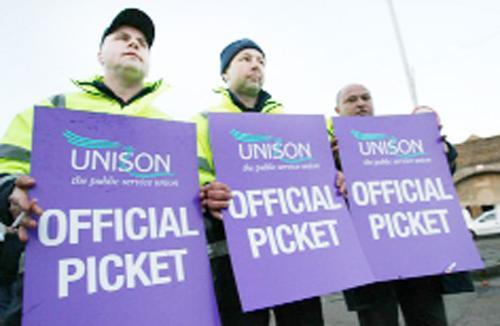 Flashback to last year's public sector industrial action