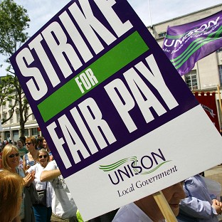 Unions 'overwhelmed' by support