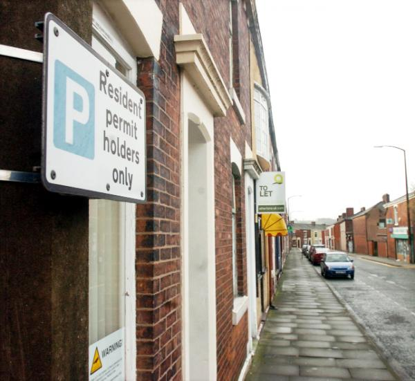 Some residents pay nothing, and some pay up to £40 to park outside their homes