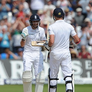 James Anderson, right, and Joe Root rewrote the record books