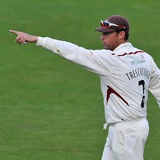 Marcus Trescothick led Somerset to victory over Northamptonshire