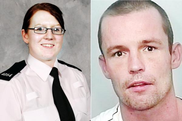 PC Suzanne Hudson and James Leslie