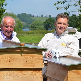 John Smythe and Chris Packham present Hive Alive