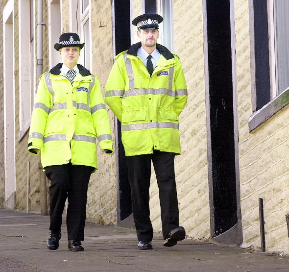 The number of police officers in Lancashire will fall due to budget cuts