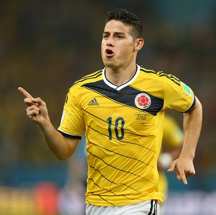 James Rodriguez wants to help continue Real Madrid's success