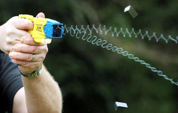 The Taser is an integral part of the police force's arsenal