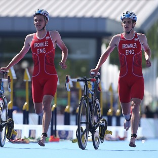 Brownlees one-two for England