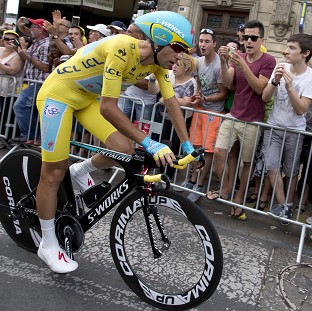 Italy's Vincenzo Nibali has dominated this year's Tour de France (AP)