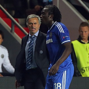 Jose Mourinho, left, and Romelu Lukaku, right, did not speak before the latter's move to Everton