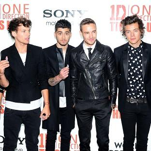 One Direction led UK sales on the global market