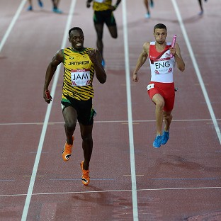 Bolt blazes to Hampden gold