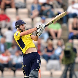 James Vince led the way for Hampshire with an unbeaten 93