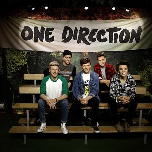 The wax figures of One Direction have had a makeover