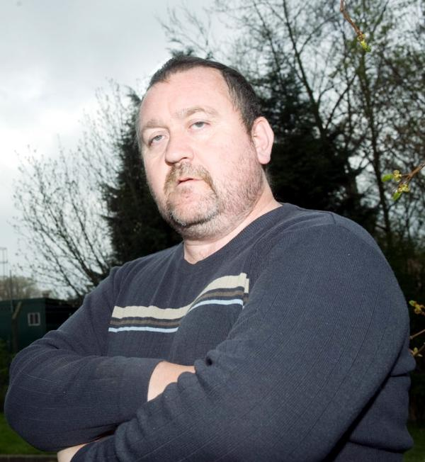 David William Geddes, 49, smiled as David Geddes Jnr was haemorrhaging and banging on the window calling for help