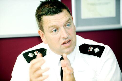 Chief Supt Chris Bithell talks about the policing cuts