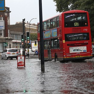 Flood alert after 'biblical' rains