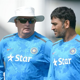 India coach Duncan Fletcher, left, will be helped by new team director Ravi Shastri during the One-Day series against England.