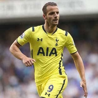 Roberto Soldado scored in Tottenham's 2-1 win over AEL Limassol in the first leg of the Europa League qualifying play-off.