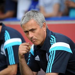 Jose Mourinho was disappointed with the 'lazy' Chelsea display in the first half