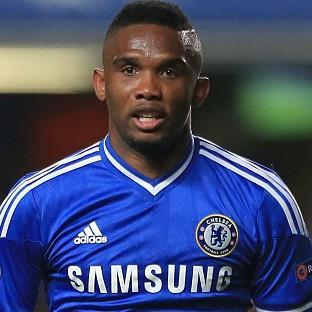 Samuel Eto'o has been without a club since leaving Chelsea at the end of last season
