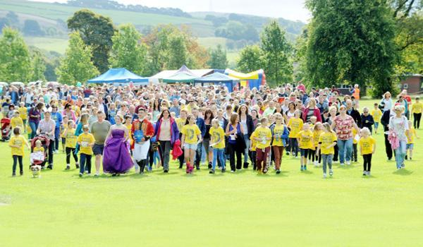 The Little Heroes hospice walk.