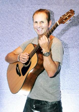 Steve Reid who will be playing guitar and supporting former EastEnders actress Melissa Suffield