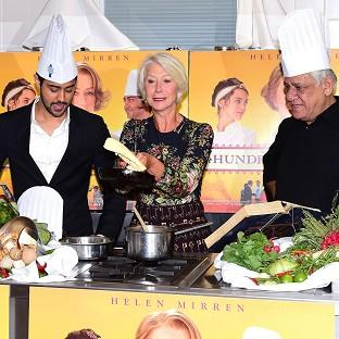 Manish Dayal, Dame Helen Mirren and Om Puri star together in The Hundred- Foot Journey